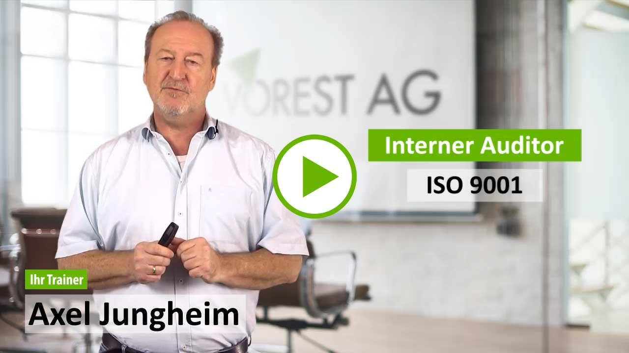 Online Schulung interner Auditor ISO 9001 - Demo Kurs zu Ihrer E-Learning Schulung
